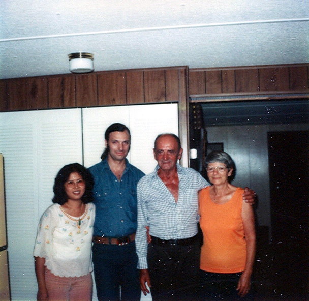 L to R: Betty Mignone, James Mignone, John Mignone, Ernestine Mignone