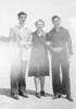 Seymour, Grandma and Dad in LA, April 1945