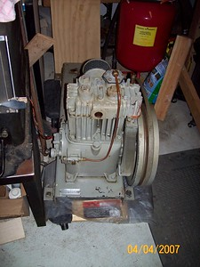 Quincy 310 compressor cleaned 3