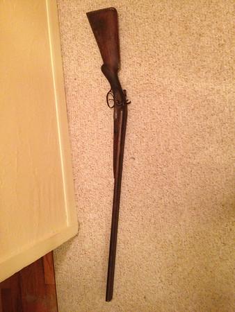Dad's dad's shotgun?