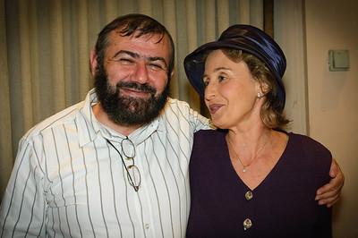 Vitaly Vovnoboy and Asya Entova