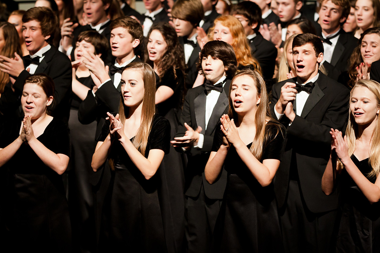 One of the Pearce High School choirs.