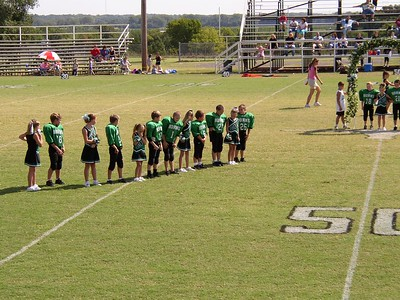 Homecoming 3rd Grade Football - Jones Longhorns