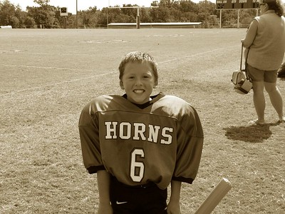 Dalton 3rd Grade Football - Jones Longhorns