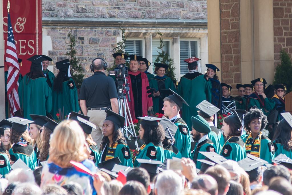 Dan getting his diploma (case)...
