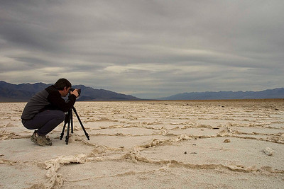 Dan Death Valley Salt Flats 6413