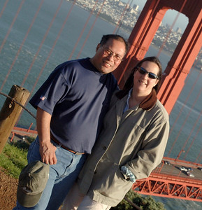 Dwaine &  Meredith Jugoz The Golden Gate Bridge