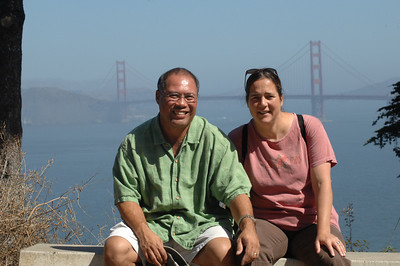 Dwaine &  Meredith Jugoz Lands End, San Francisco, California