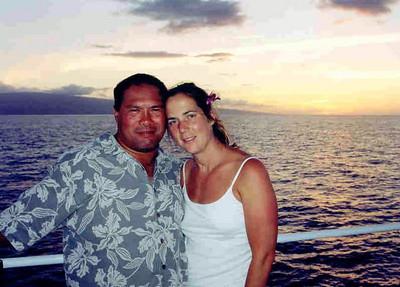 Dwaine & Meredith Jugoz - Lahaina, Maui  - Honeymoon