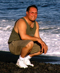 Dwaine &  Meredith Jugoz Kalapana, The Big Island of Hawaii Black Sand Beach