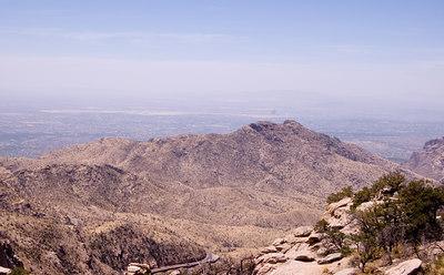 Panorama of Tucson from Mt. Lemon