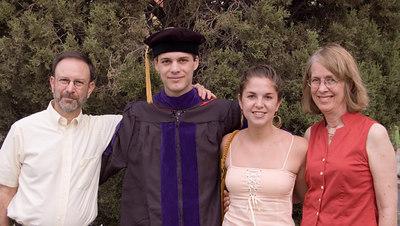 David, Daniel, Rachel and Barbara