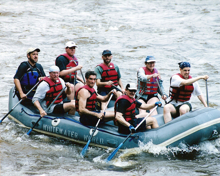 White Water Rafting, Leighton, PA  July 2, 2006