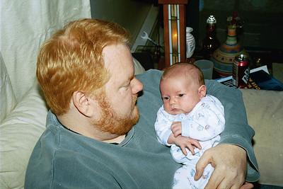 Danny at 6 weeks, 2003