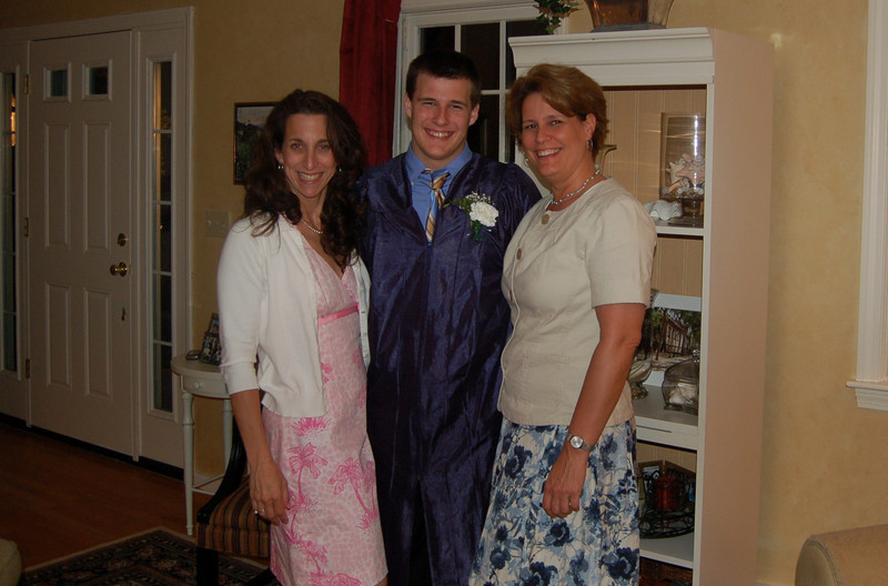 Dan, Mom and Amy Watson... the tutor who made this all happen!!!