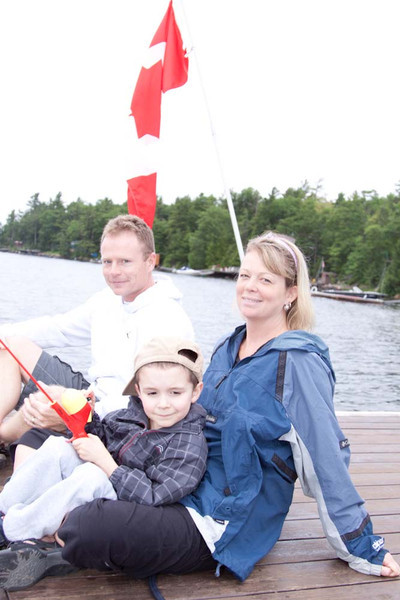 Darcy & Jill with Nolan June 25 11