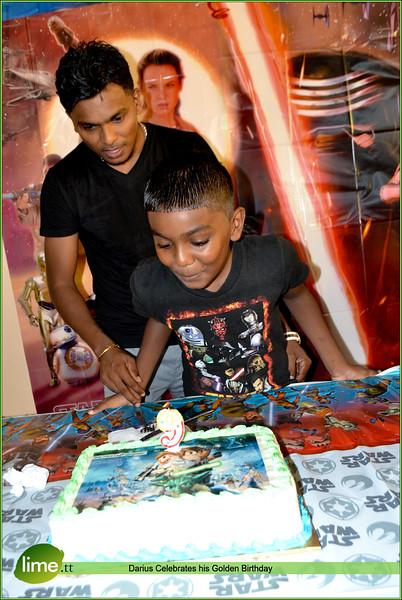 Darius Celebrates his Golden Birthday