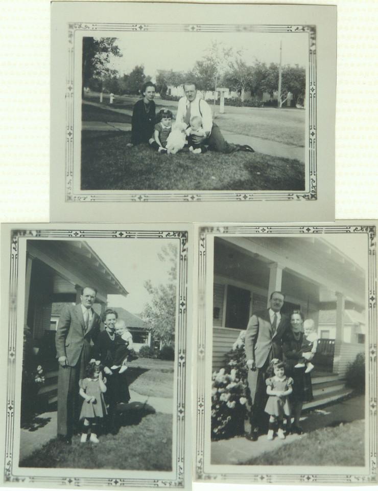 John V  Henwood family photo of 4