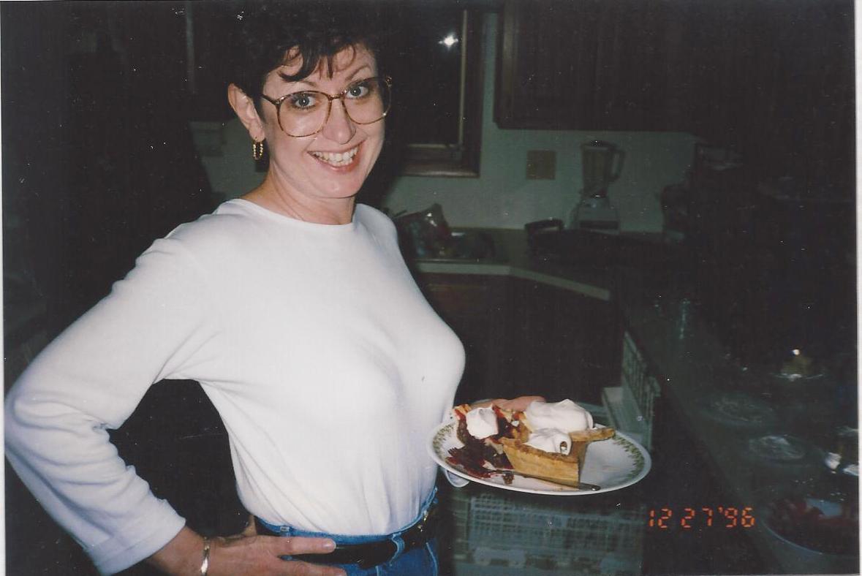 Vickie and pie