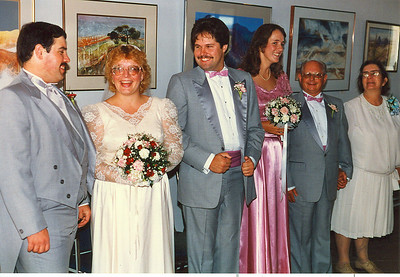 (Left to right) Daryl, Rose, Lenny, Jenny, Donald, Margaret