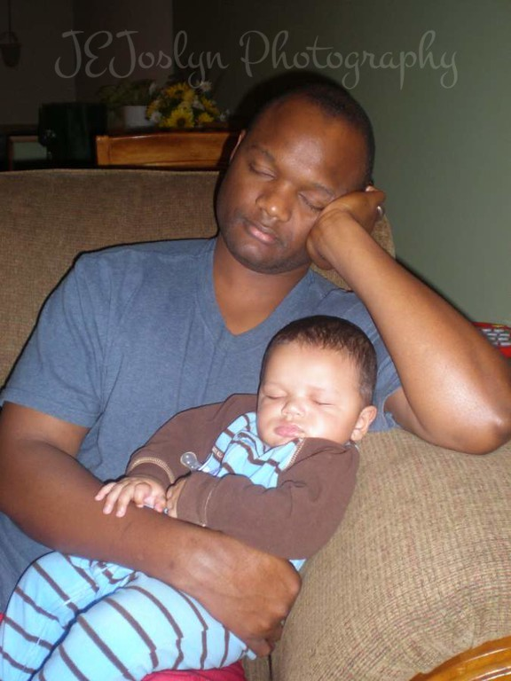 RJ and Dad, November, 2009