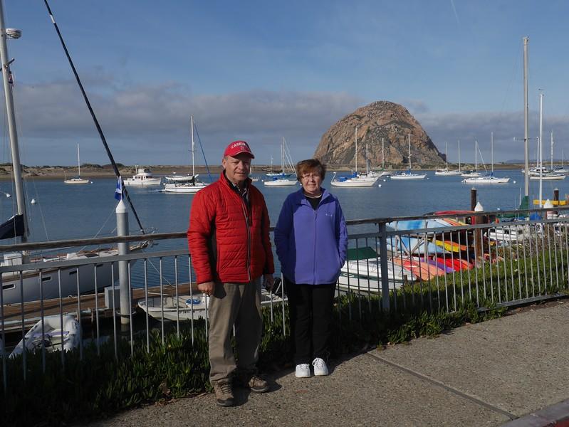 The rock at Morro Bay.