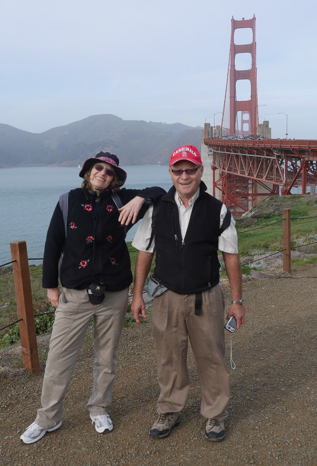 Land's End hike in SF.