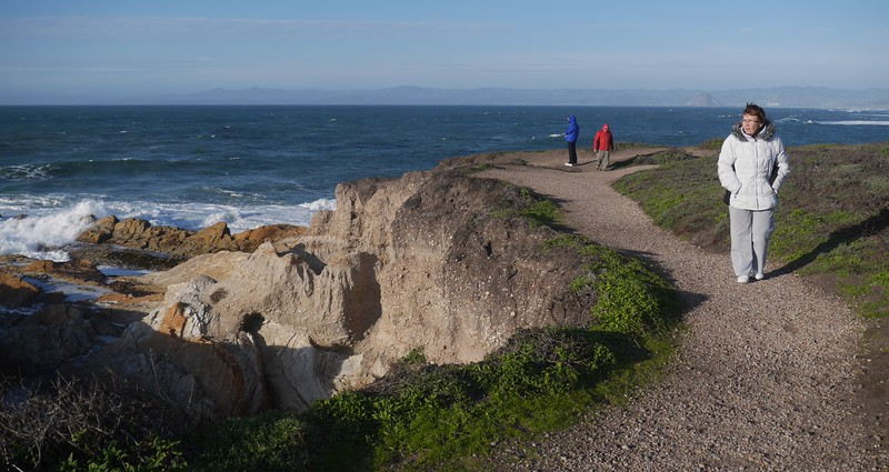 Hiking at Montana de Oro State Park.