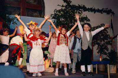 first show ever in kindergarden 1992 STONESOUP