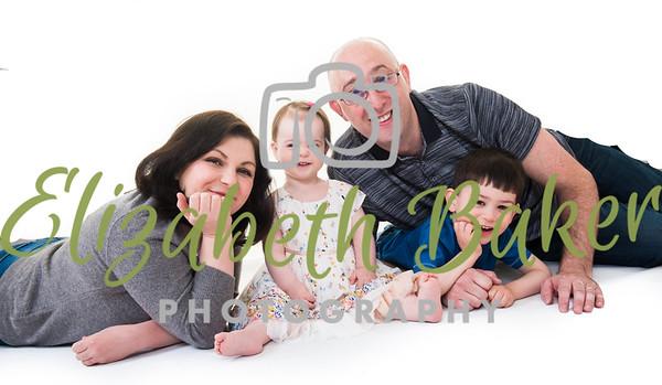 David, Elena and family