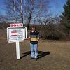 Sold sign on Ferguson farm - 10th Line of Innisfil