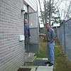Visiting Ian at his Glen Echo apt