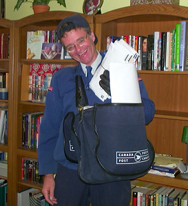 Dave in uniform - 2001- goofing!