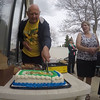 "Video of the cake cutting, a.k.a ""sorry, Egypt"""