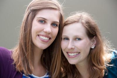 Katia and Natalie 2012 mall