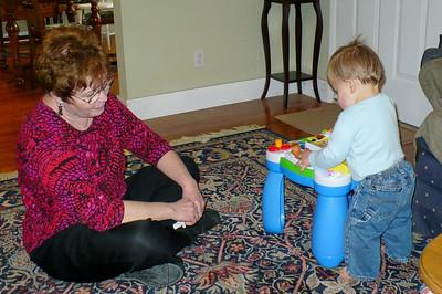 Grandma Linda and Joey