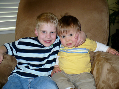 Cousins -- Byron and Joey