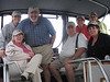 "The whole gang with our ""Beltene"" hats (the name of the boat)."