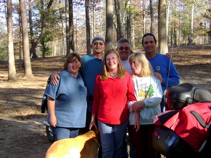 front: Margaret, Bird, Aunt Eulene<br /> back: David, Gary, Jeff