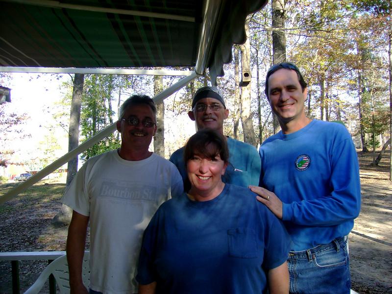Margaret, Gary, David, Jeff (first cousins)