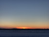 Sunrise across the frozen Moose River 2017 December 31st.