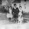 Winifred, age 5; Wayne, age 8; Marian, age 6 - Spartanburg, 1923