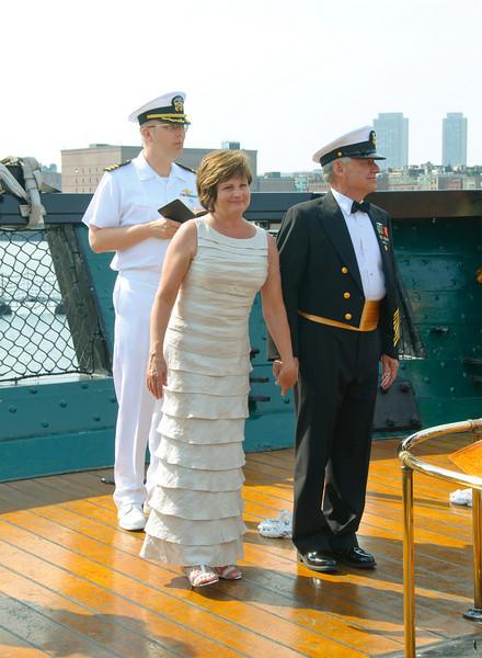 The chaplin presents Mr & Mrs Dillon
