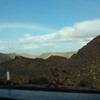 Rainbow on the way from San Diego... drove thru the clouds and rain to this