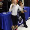 Lila sings karaoke