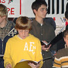 Not exactly joyful, but Carter sang with the middle school choir at Christmas onthe Square too :)