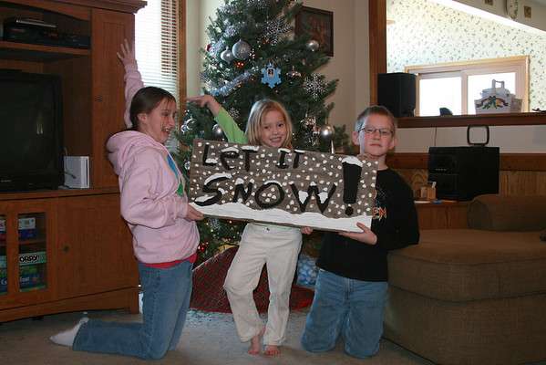 December 2007 Snow Pictures