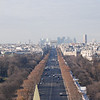 SB:  Like this view of the Champs Elysees down to the Arc de Triomphe