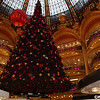 SB:  Christmas tree at Galeries Lafayette -see Chanel