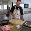 Matt making Kifli cookies!
